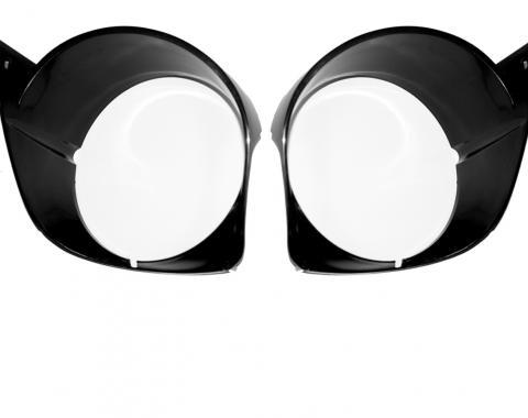 Scott Drake 1970 Headlamp Doors (Pair) D0ZZ-13064-A/B