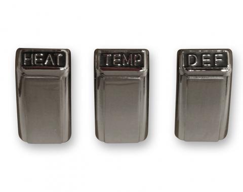 Scott Drake 1968 Heater Control Knob Set C8ZZ-18519-AK