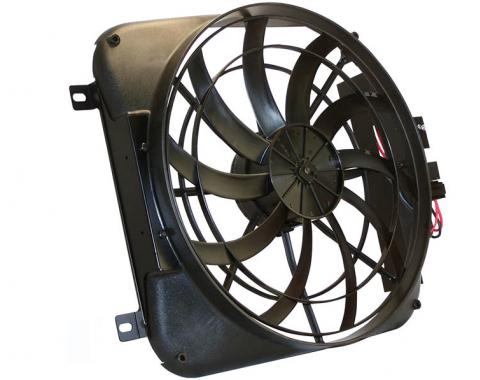 """Scott Drake 1967-69 Mustang 20"""" Electric Fan and Shroud Kit – Small Block V8 without A/C C7ZZ-8146/8600"""