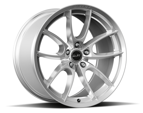 Carroll Shelby Wheels 2015-2020 Ford Mustang CS5 19x11, Chrome Powder CS5-911550-CP
