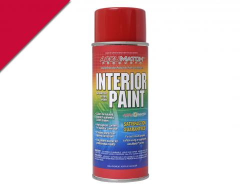 Scott Drake 64-65 Bright Red Semi Gloss Interior Paint L-6022