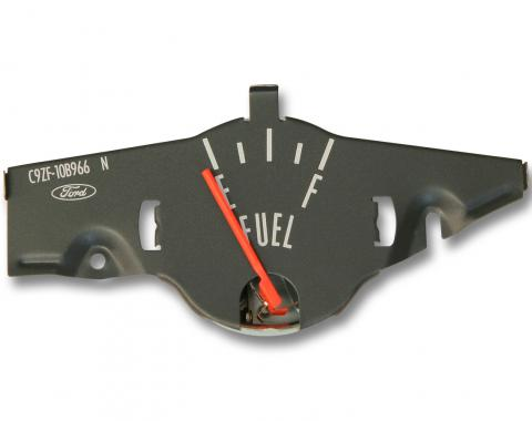 Scott Drake 1970 Mustang Fuel Gauge without Factory Tachometer (Gray) D0ZF-9280