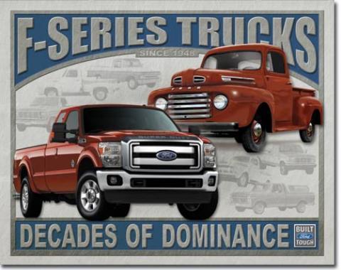 Tin Sign, FORD - F-Series Trucks