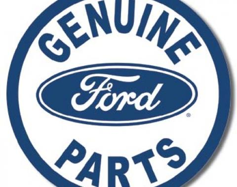 Tin Sign, Ford Parts