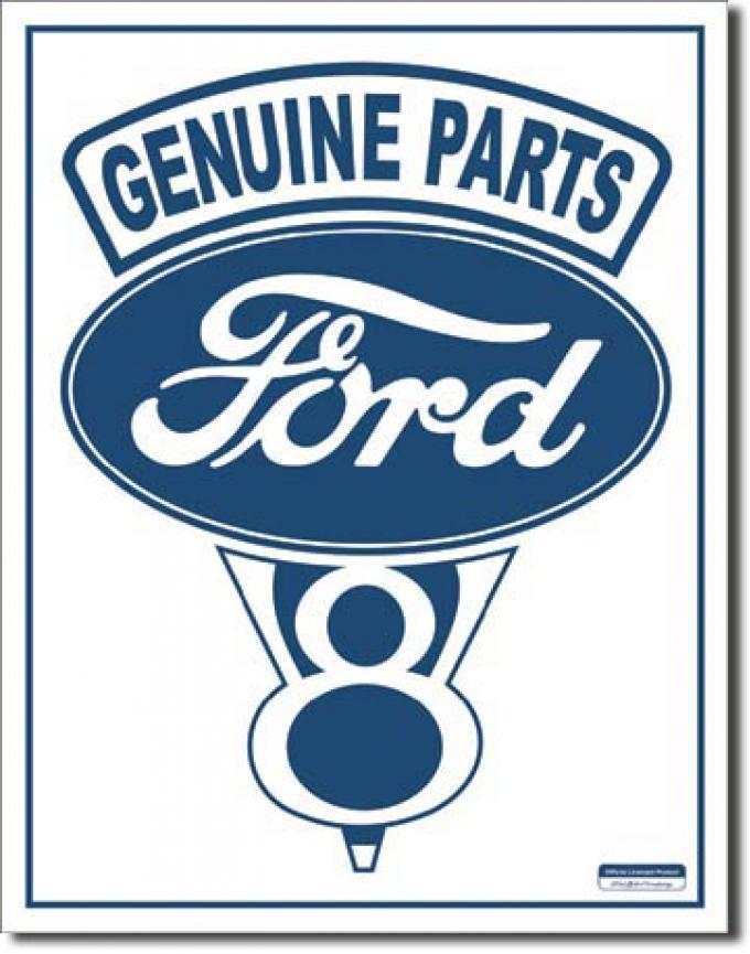 Tin Sign, Ford V-8