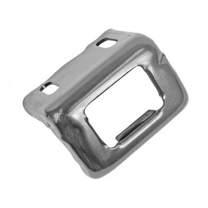 Trunk Latch Striker Plate - Original Zinc Plate
