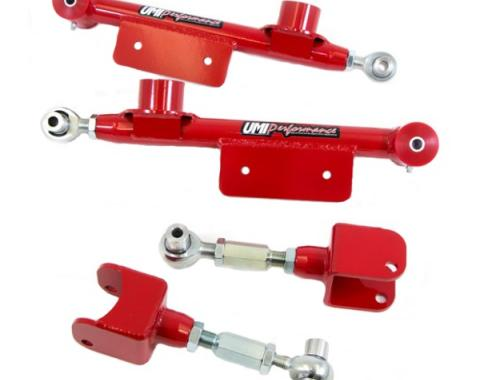 UMI Performance Upper & Lower Control Arms Kit  | 101517-R Mustang 1979 - 1998