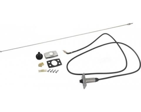 Daniel Carpenter Ford Mustang Radio Antenna Assembly - Stationary Tapered Whip Type Mast D3ZZ-18813