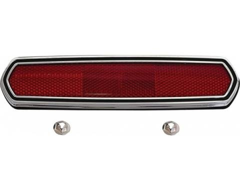 Daniel Carpenter Ford Mustang Side Marker Light Reflector - Right Or Left - From 2-10-1968 C8GY-13380