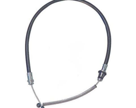 Ford Mustang Rear Emergency Brake Cable - Left - 31 - 250 6Cylinder & All V-8 Engines