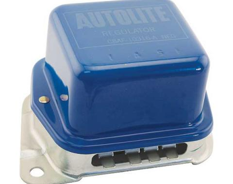 Alternator Voltage Regulator - Without Power Convertible Top Or A/C - Before 5-1-70