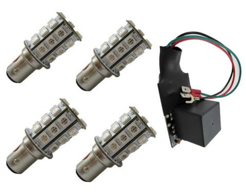 Mustang Sequential LED Tail Light Kit, 1971-1973