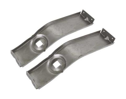 Ford Mustang Fog Light Brackets - Steel Stamping - Mounts To Grille