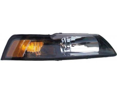 Mustang Head Lamp R/H (LHD) 2001-04