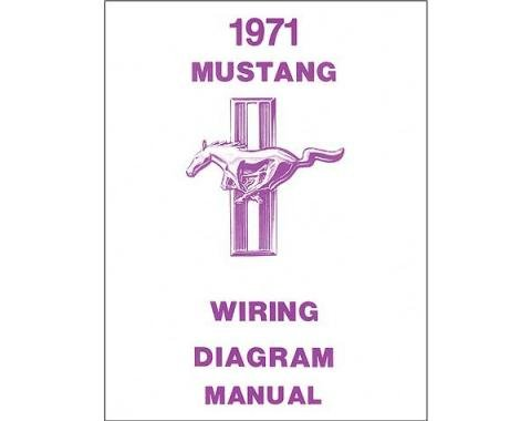 Mustang Wiring Diagram - 16 Pages - 17 Illustrations