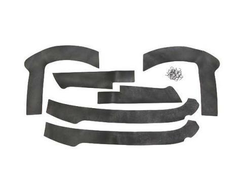 Daniel Carpenter Ford Mustang Splash Shield Seal Kit - Mounting Hardware Included C5ZZ-16572