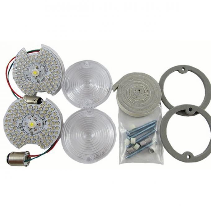 Mustang LED Back Up Lamp Kit, 1964-1968