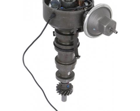 Distributor, Rebuilt, Single Vacuum Points/Condenser Type, 390, 427, 428, 429 Engines