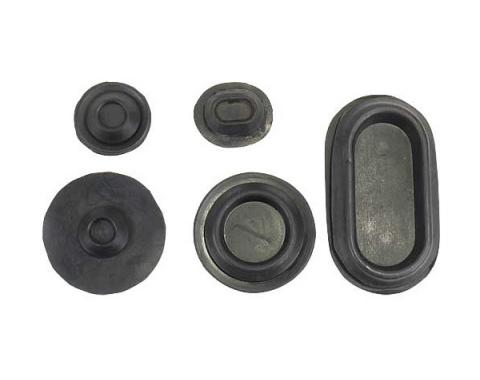 Daniel Carpenter Ford Mustang Rubber Grommet Kit - 13 Pieces 377173-K