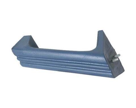 Ford Mustang Door Pull - Blue - Left - For Deluxe Door Panels