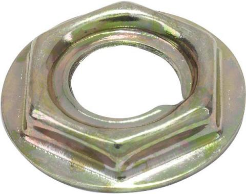 Ford Mustang Dash Panel Speed Nut Set - 8 Pieces - Gold-Zinc Plated