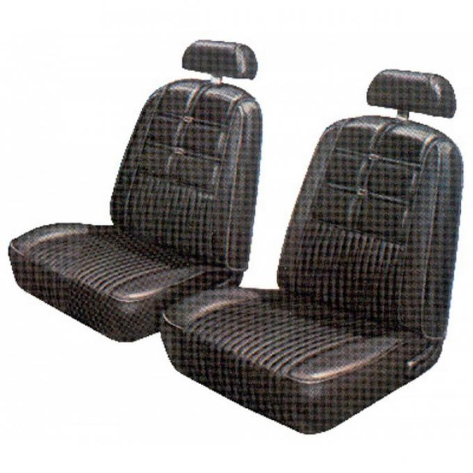 Distinctive Industries 1969 Mustang Deluxe Sport/Roof with Buckets Front & Rear Upholstery Set 068585