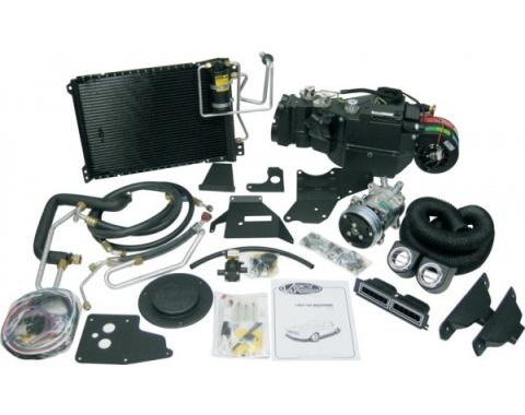 Mustang Gen IV Complete Air Conditioning Kit w/o Factory Air, 1967-1968