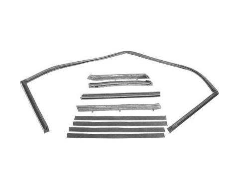 Ford Mustang Convertible Roof Rail Seal Set - 5 Pieces