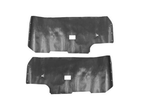 Ford Mustang Door Trim Panel Water Shields - Fastback