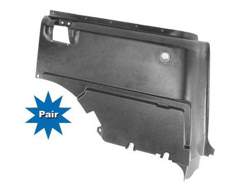Ford Mustang Quarter Panel Trim - Lower - Fastback