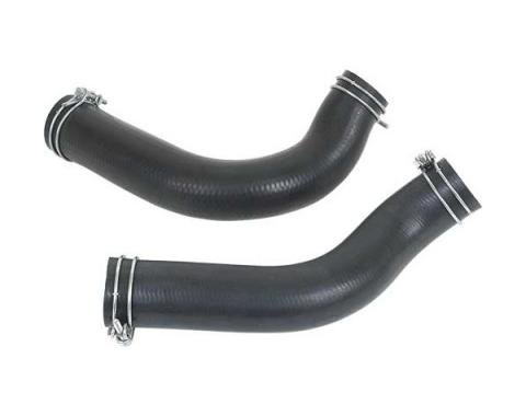Ford Mustang Radiator Hose Set - 2 Hoses - Script - For 20 Radiator - 302 Or Boss 302 Or 351W V-8