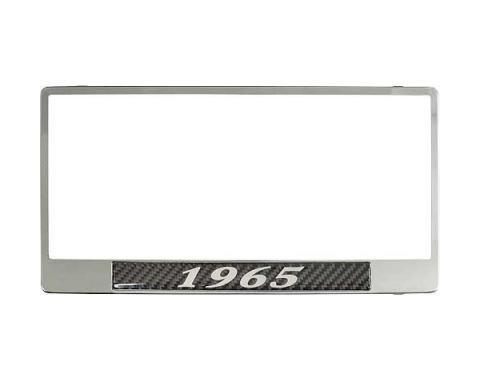 License Plate Frame - 1965