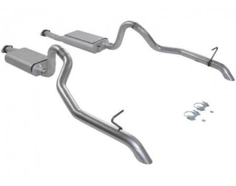 Mustang Flowmaster Force II Catback Exhaust System, 1987-1993