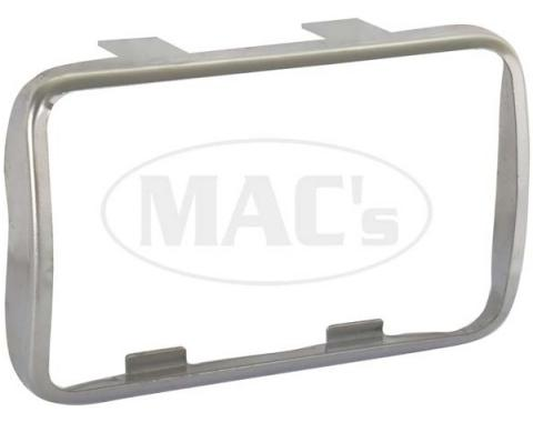Ford Mustang Clutch Pedal Pad Trim Ring - Stainless Steel