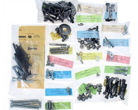 Engine Hardware Master Kit - 289 V8 With Cast Iron Water Pump & Alternator - Without A/C