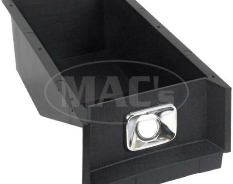 Ford Mustang Console Glove Box - Black Plastic