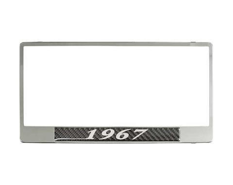 License Plate Frame - 1967