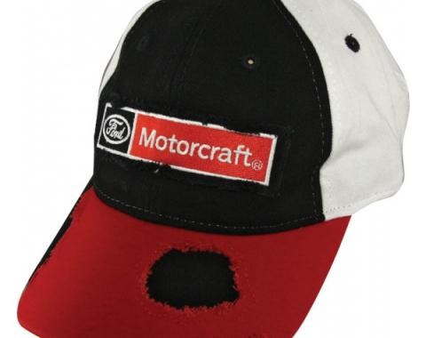 Ford Motorcraft Distressed Cap