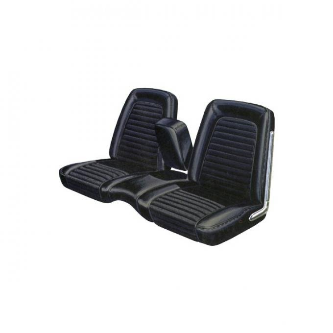 Distinctive Industries 1967 Mustang Standard Convertible with Bench Front & Rear Upholstery Set 068130