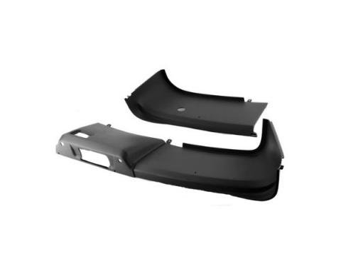 Mustang Hatch Interior Rear Trim Panel  Black 1987-93
