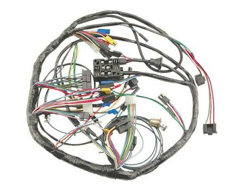 Ford Mustang Dash Wiring Harness - All Models Except GT