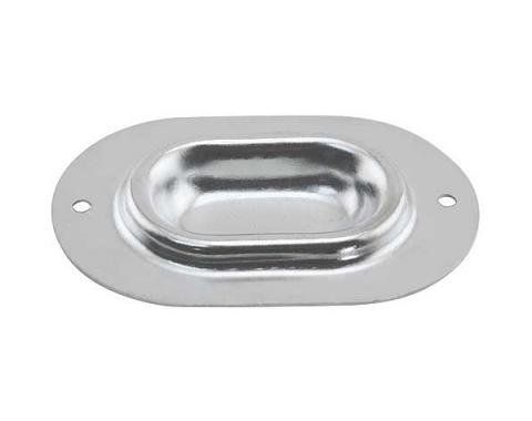 Daniel Carpenter Ford Mustang Floor Pan Drain Hole Cover - Zinc Plated C8ZZ-6511117