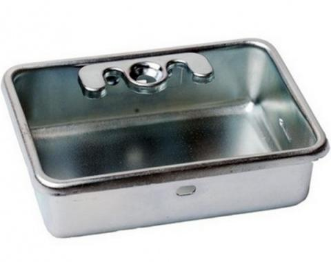 Daniel Carpenter Ashtray Receptacle / Zinc Plated D1ZZ-6504788
