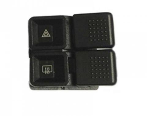 Ford Mustang - Mustang  Hazard Light And De-Fogger Switch, 1987-1993