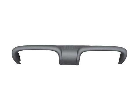 Ford Mustang Dash Pad - Black - Without Air Conditioning