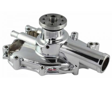 Ford Mustang - Supercool Platinum Shorty Water Pump, 5.0L & 302, Chrome, 1979-1985