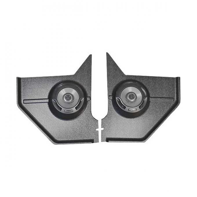 Ford Mustang Kick Panel Radio Speakers - Pioneer - 6-1/2 Co-Axial - Coupe & Fastback