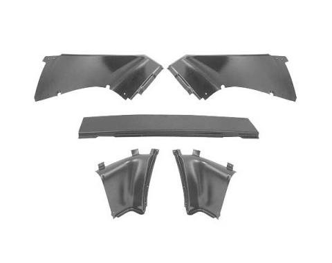 Ford Mustang Quarter Panel Trim Set - 5 Pieces - Fastback