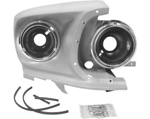 Ford Mustang Headlight Assembly - Right - Reproduction - All Models Except Shelby GT350 Or GT500