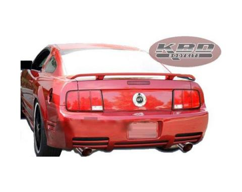 Ford Mustang Saleen Style 1 Pc Poly Rear Bumper 2005-09
